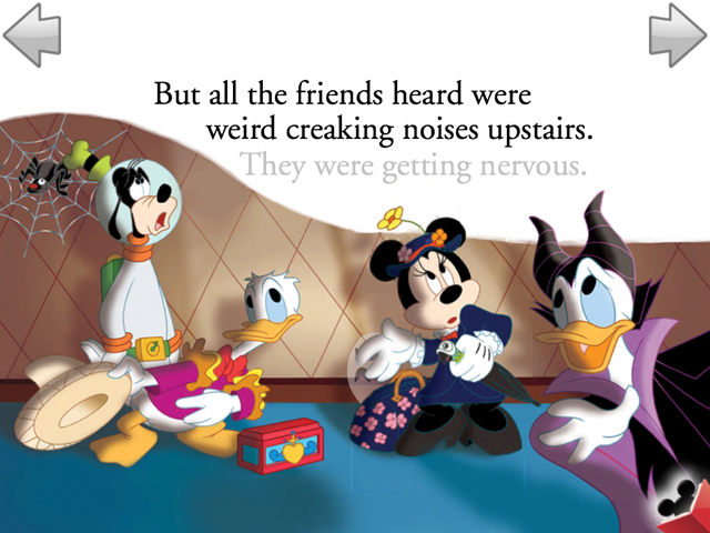 Mickey S Spooky Night Review Best Kid Ipad Apps
