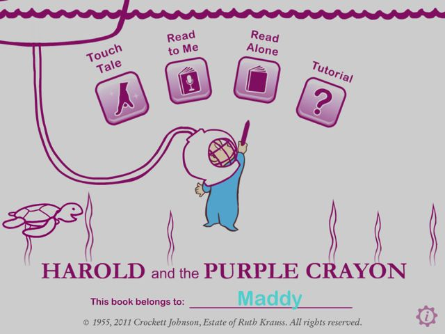 IMG 03201 Harold and the Purple Crayon review